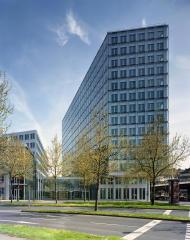 Gebäude der NRW Bank in Düsseldorf